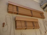 4 Blinds for sale all in good condition complete with fixing brackets.