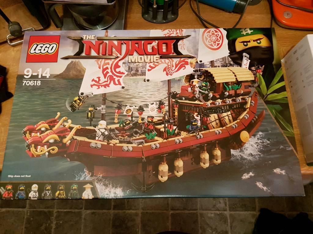 Lego ninjago movie 70618