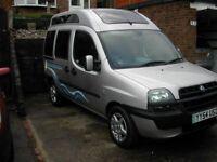 Fiat Dublo 1.9D Dynamic Compact Camper Van