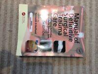 Manual of Definitive Surgical Trauma Care