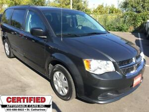 2012 Dodge Grand Caravan SE ** FULL STOW N GO, REAR CLIMATE **