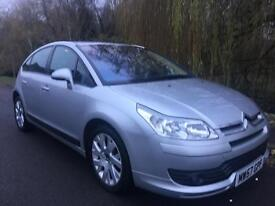 CITROEN C4 1.6 VTR+ LOW MILEAGE FULL MOT NO ADVISORIES FIRST TO SEE WILL BUY