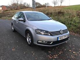 2012 VW Passat 1.6 Tdi . One owner from New . Full service history . £30 year Road tax