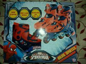 Ultimate Spiderman inline Skates
