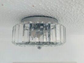 John Lewis Crystal Light Fitting