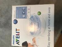 Avent microwave steriliser brand new