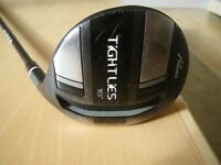 ADAMS (TAYLOR MADE) FAIRWAY WOOD TIGHT LIES 16* WITH SPEED POCKETS. FLEX S RAYON SHAFT.