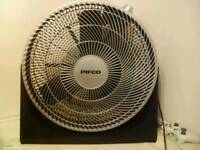 Massive floor fan
