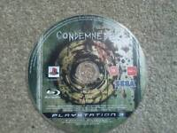 Ps3 game condemned 2
