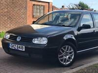 2001 VOLKSWAGEN GOLF 1.8 GTi 5 DOOR 16 INCH SILVER ALLOY WHEELS 1 OWNER