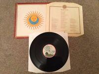 "KING CRIMSON - LARKS' TONGUES IN ASPIC ILPS 9230. 12"" VINYL LP"