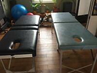 Portable therapy massage couches