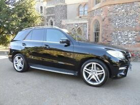 Mercedes M-CLASS (W166) ML250 BLUETEC AMG SPORT with COMMAND, Airmatic and Parking Pilot