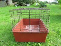 Cage suitable for guinea pigs