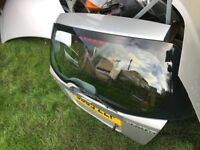 Chevrolet kalos tail gate silver boot lid
