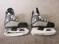 Kids Adjustable Tour ZT660 Ice Hockey Skates