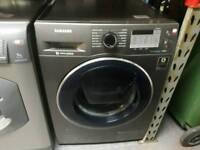 SAMSUNG 9KG ADD WASH GRAPHITE WASHING MACHINE