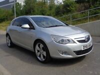 2011 VAUXHALL ASTRA ELITE AUTOMATIC DIESEL, HPI CLEAR, LEATHER INTERIOR, 3 MO...