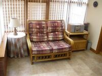 Cane Conservatory Furniture (3 Piece Suite + Occasional Furniture)