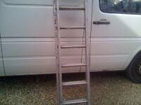 2 part aluminium ladder