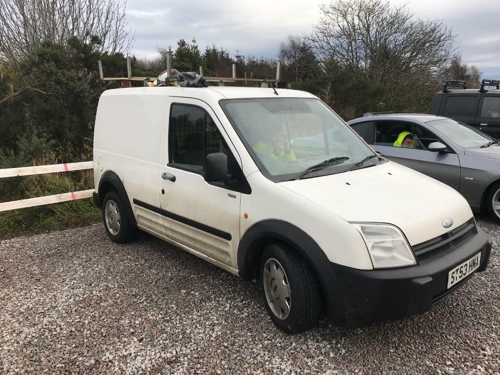 Ford transit connect 53 plate