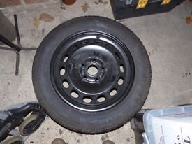 New wheel and tyre for VW Golf