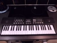 Battery operated electric keyboard in perfect working order