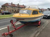 16 Feet Shetland 535 Boat - 30 Horse Power Electric Start PLUS EXTRAS