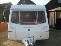 2004 abbey 2 berth caravan in very good condition