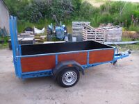 Trailer suitable for Quad, ride on mower or mini digger