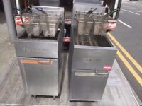 FASTFOOD TWIN TANK COMMERCIAL FRYER MACHINE CHIPS £550 PER CATERING MACHINE RESTAURANT DINER FISH