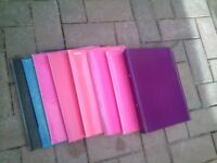 selection of binders for sale £1 each