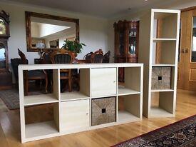 Ikea kallax shelving units