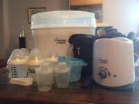 Tommee Tippee 6 bottle Electric Steriliser Kit