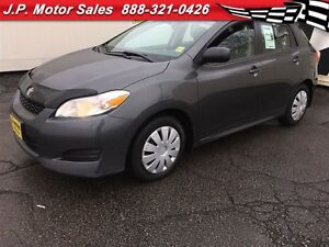 2013 Toyota Matrix Manual, Power Group,