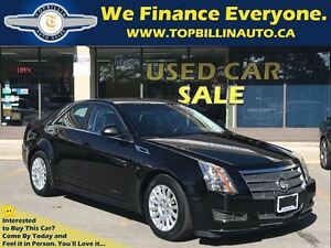 2011 Cadillac CTS 3.0L Only 63K kms, 2 YEARS WARRANTY