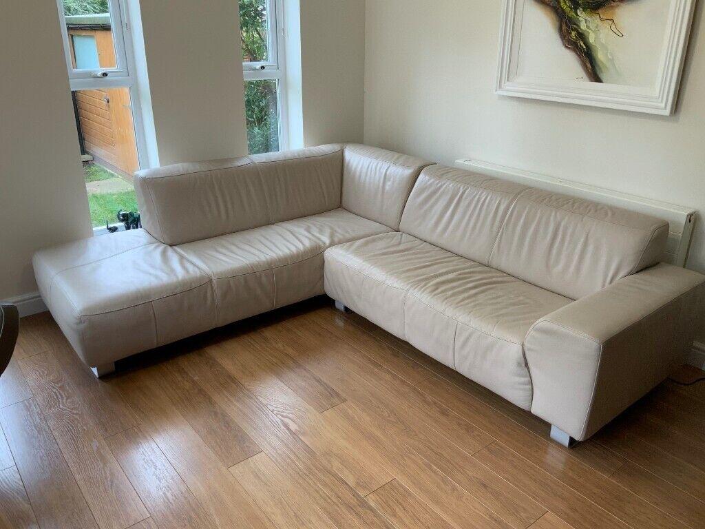Contemporary Corner Leather Sofa In Runcorn Cheshire Gumtree