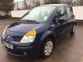 2004 RENAULT MODUS 1.4 EXPRESSION, ONLY 47,000 MILES, NEW MOT FEBRUARY 2019, PAN ROOF