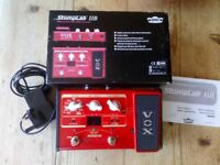 Vox stomplab 11b multi effects pedal as new condition