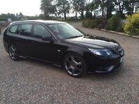 Saab 9 3 Aero 1.9 Ttid manual sports wagon with TX pack . Full service history