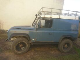 Land rover defender 300 tdi galvanised chassis rebuild