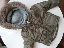 Baby jacket 3-6