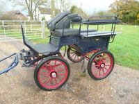 4 wheel pony carriage for sale