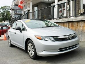 2012 Honda Civic DX / 1.8L I4 / Auto / FWD