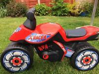 Ride on kids motorbike