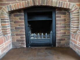 Small Jetmaster Convector Multifuel Fire fits into standard opening