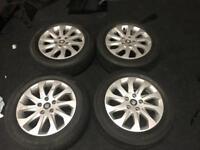 "16"" seat Leon alloy wheels & tyres"