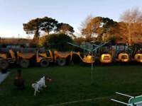 MINI DIGGER & DUMPER HIRE