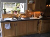Solid Maple Kitchen, Integrated Appliances