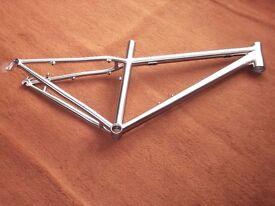 titanium mountain bike frame, 650b, new.